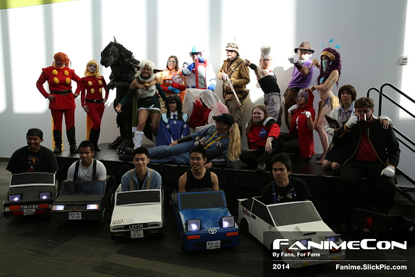 Friday: 5pm - 6pm by Fanime2014