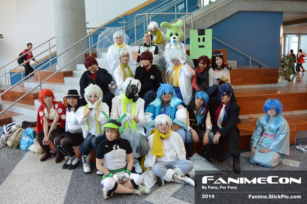 Friday: 1pm - 4pm by Fanime2014