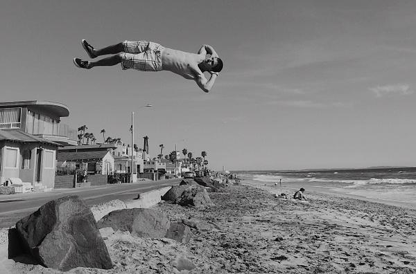 Napping - Oceanside, California by DaveWyman
