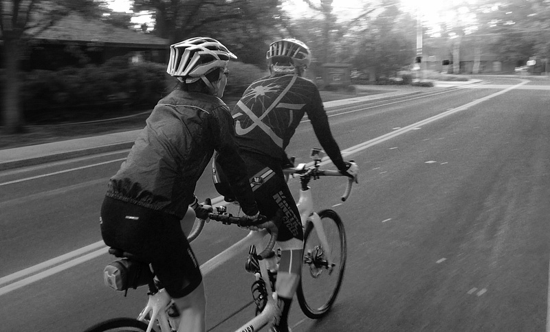 Early Morning Ride on a Tandem