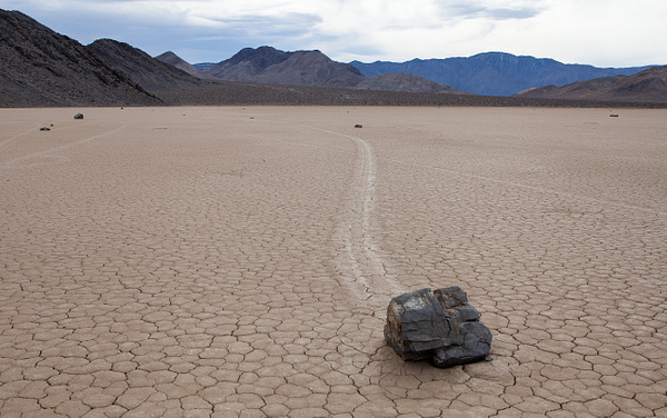 Racetrack, Death Valley, USA by Eugene Osminkin