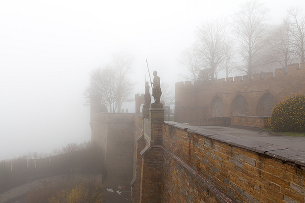 Burg Hohenzollern, Germany by Eugene Osminkin
