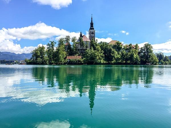 Bled lake, Slovenia, 2015 by Eugene Osminkin