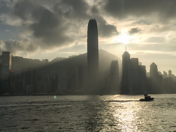 Hong Kong at Christmas 2015 by Eugene Osminkin