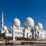 Abu Dhabi, Emirates, Sheikh Zayed Mosque
