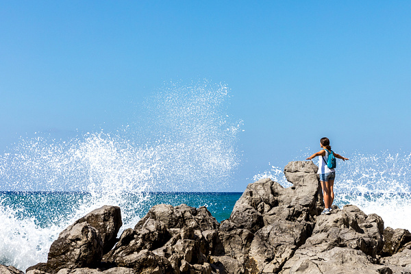 Cefalu, Sicily, Italy by Eugene Osminkin