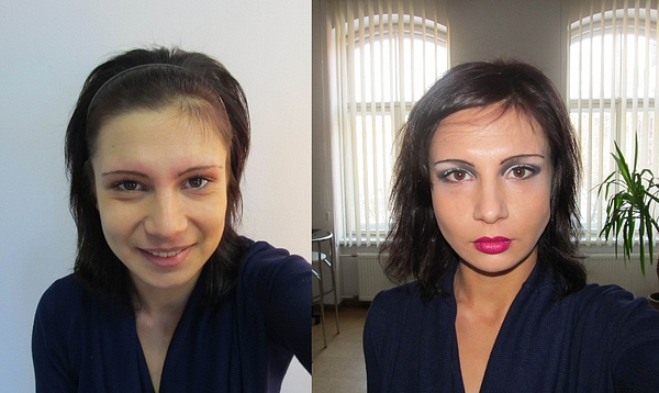 Before/After MakeUp by tander