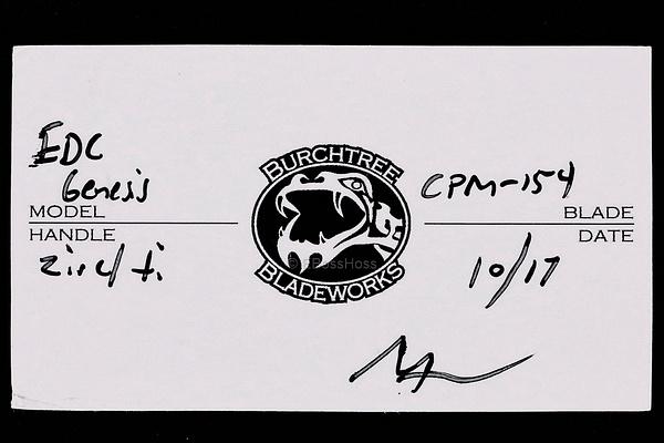 Michael Burch Custom EDC Genesis Flipper by EBossHoss