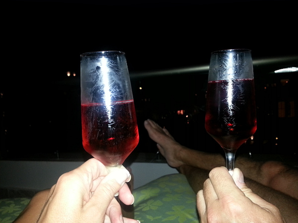 Cheers to next year by Aannabandana