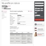 Процесс покупки билета NSB