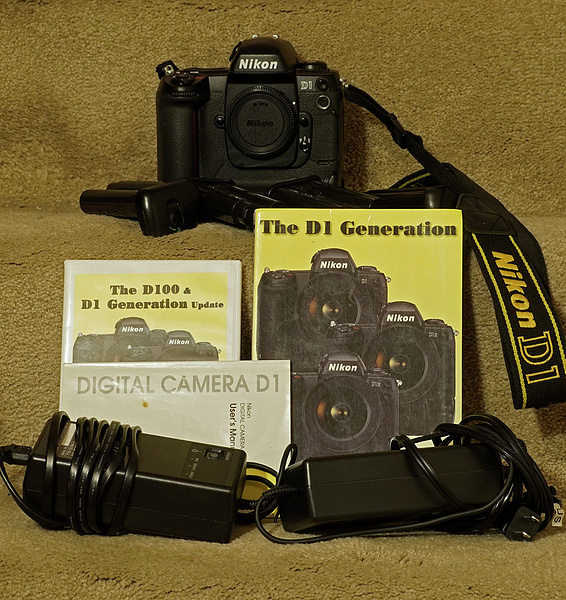 Nikon D1 Outfit by jimsimp3