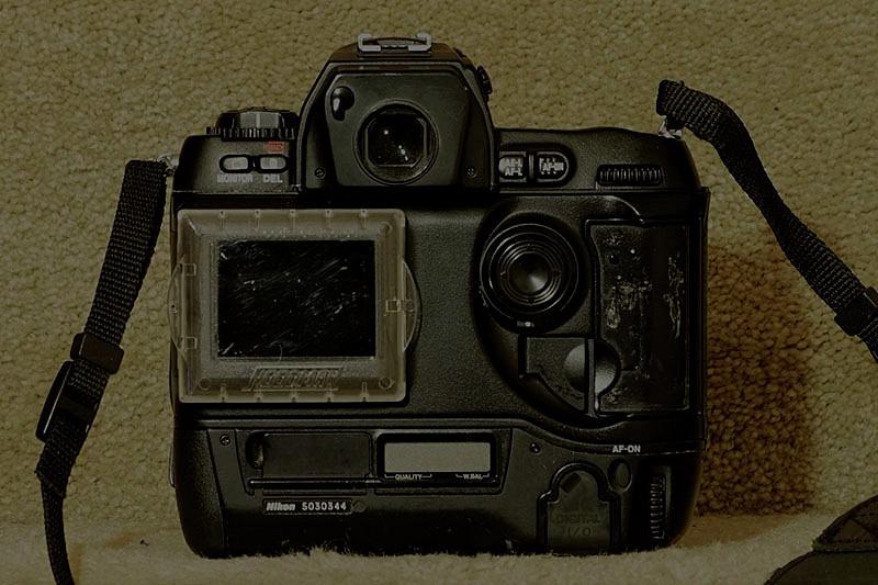 Nikon D1 back