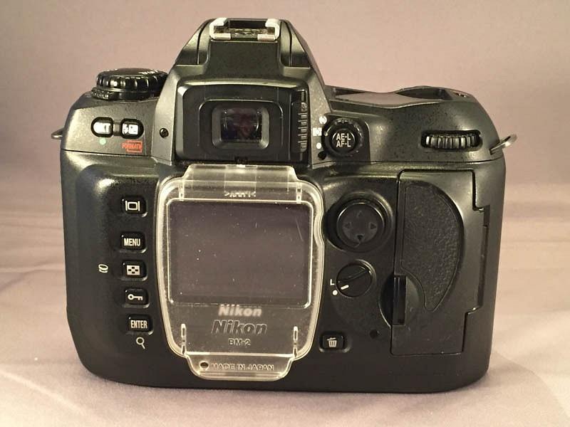 Nikon D100 Back