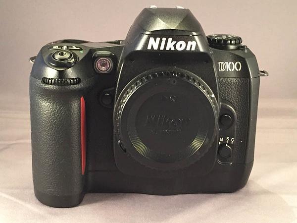 Nikon D100 Front by jimsimp3
