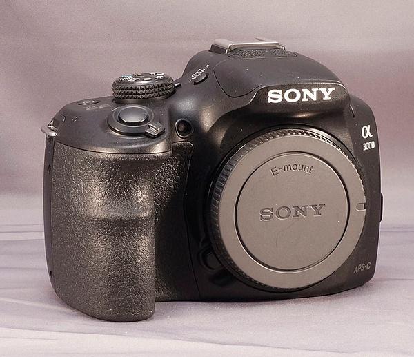 Sony A3000 Body front by jimsimp3