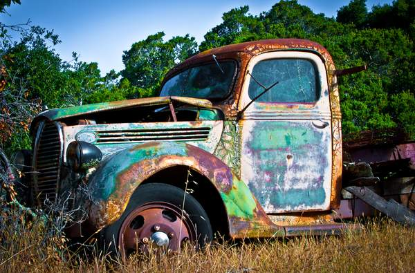 Old truck 222