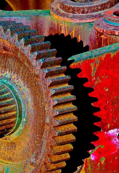 Rusty wheel 222