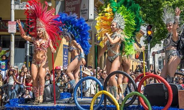 SF Carnaval Parade Float