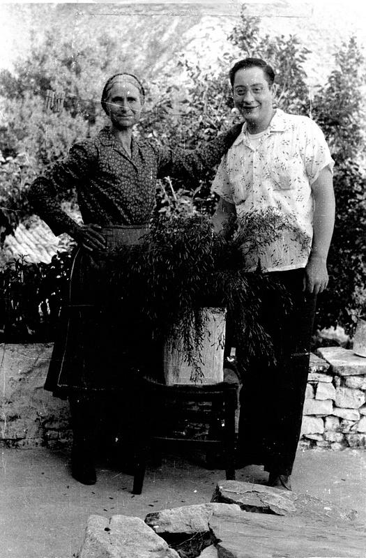 Nikko with Yiayia Xanthea