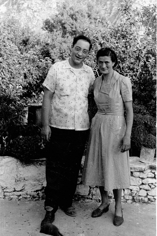 Nikko and Marion Xanthea in 1952
