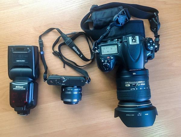 Nikon1J3 by Vitaliy Sharavara