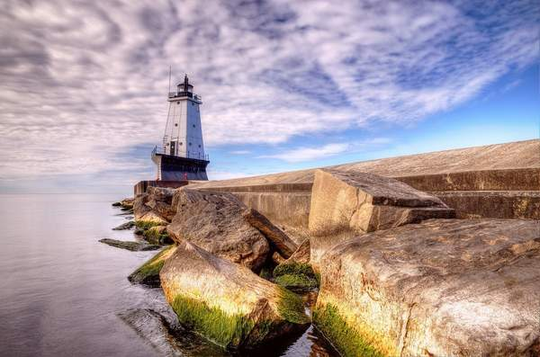 Ludington Pier Light