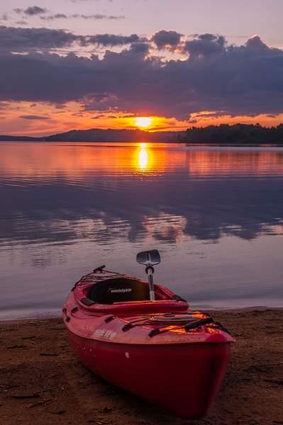 Sunset on Lake Michigamme