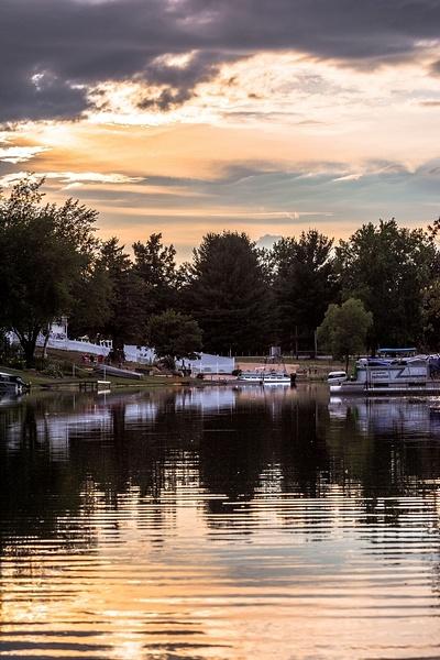 2016 Sunset Pictures from Lake Gitchegumee by SDNowakowski