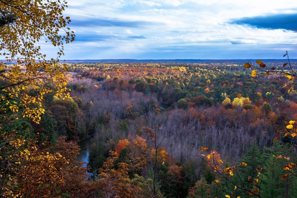 2016 Northern Michigan Fall Colors Oct. by SDNowakowski