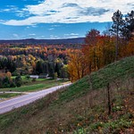 2016 Fall Colors around Mesick & Frankfort, Michigan