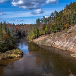 2016 Manistee River Fall Colors Oct.