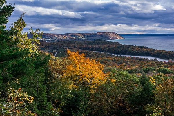 2016 Fall Colors @ Sleeping Bear Dunes National Lake Shore by SDNowakowski