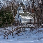 2016 Deep Snow on the Boardman & Manistee Rivers and the Old Mission Lighthouse Dec.