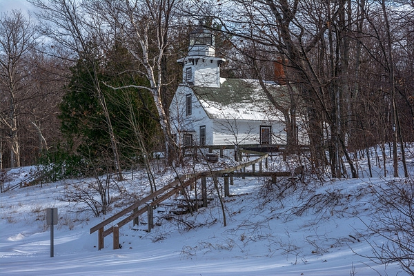 2016 Deep Snow on the Boardman & Manistee Rivers and the Old Mission Lighthouse Dec. by SDNowakowski
