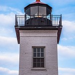 2016 Sand Point Lighthouse in Escanaba, Michigan in April