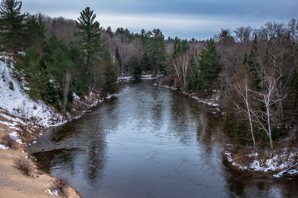 2017 Buckley Roll-Way and The Manistee River in March by SDNowakowski