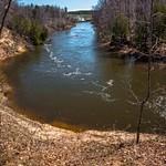 2017 Manistee River Trail System Suspension Bridge