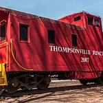 2016 Thompsonville Railroad Caboose in April
