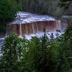 2017 Tahquamenon Upper Falls in June