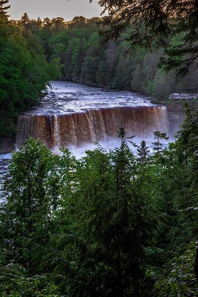 2017 Tahquamenon Upper Falls in June by SDNowakowski