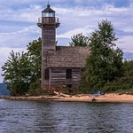 2017 Grand Island East Channel Lighthouse in Munising, Michigan