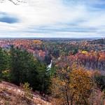 2017 Fall Colors around Buckley Roll-Way in Buckley, Michigan in October
