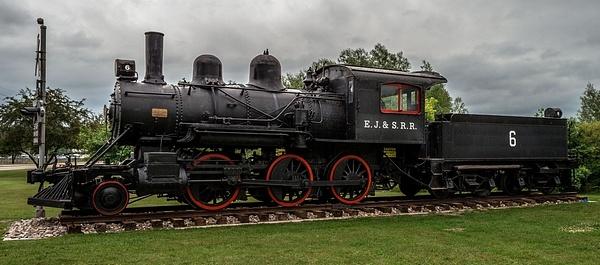2017 East Jordan # 6 Steam Locomotive by SDNowakowski
