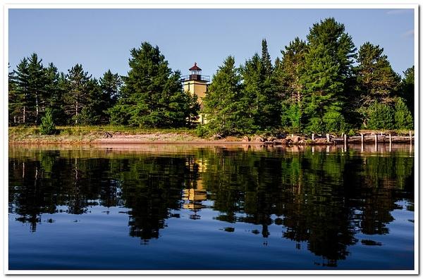2013 Bete Grise Lighthouse on Keweenaw Peninsula in the Upper Peninsula of Michigan by SDNowakowski