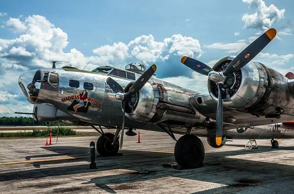 "B-17 Bomber ""Madras Maiden"