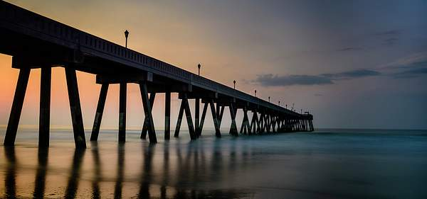 Wilmington Pier At Dawn