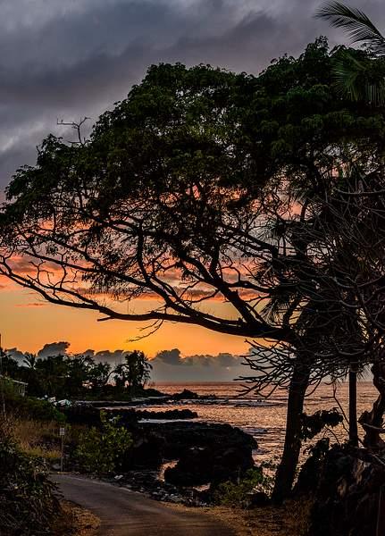 Manini High Surf Sunset