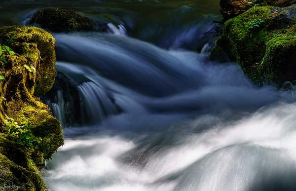 Whitehorse Falls Closeup