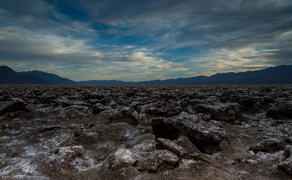 devil's golfcourse-1 by KenWilliamson