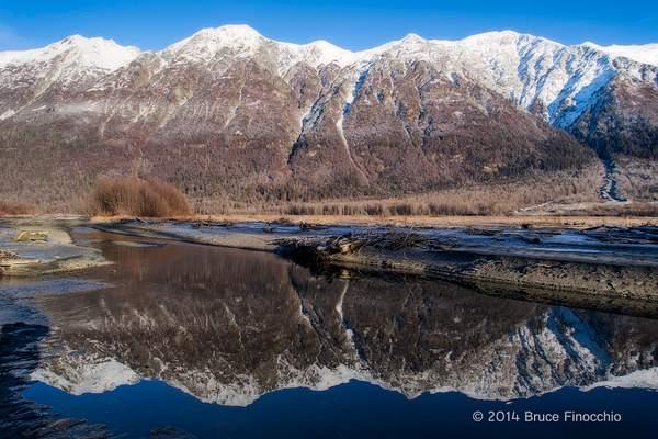 Takshanuk Mountains Reflected In The Chilkat River_BE104506D7II c 222